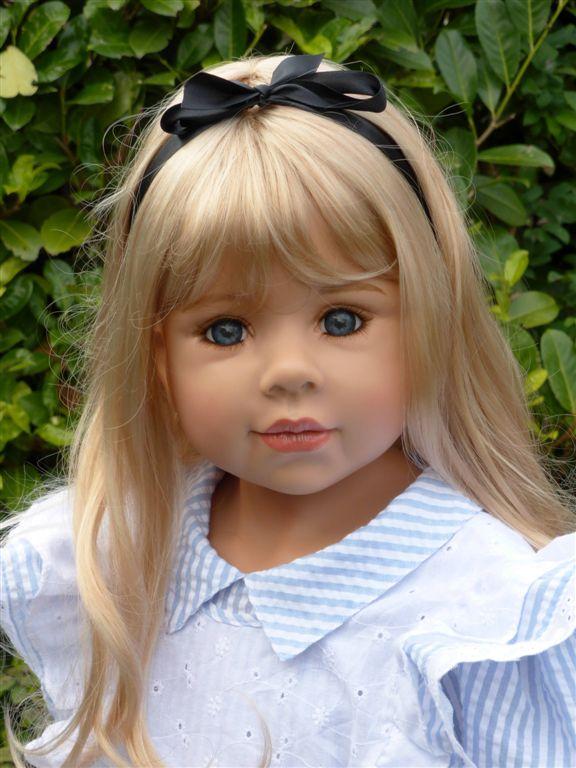 braune augen blonde haare